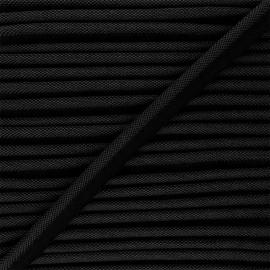 Passepoil tissé 14mm Antoine - noir x 1m