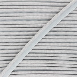 14mm Woven Piping - light grey Antoine x 1m
