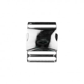 40 mm Side Release Buckle - silver Classic
