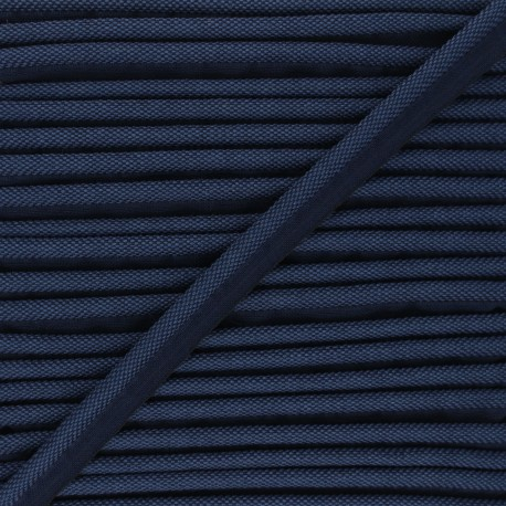 14mm Woven Piping - navy blue Antoine x 1m