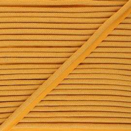 14mm Woven Piping - honey yellow Antoine x 1m