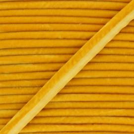 Passepoil velours 16mm Clovis - miel x 1m