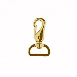 Snap hooks - gold Basic