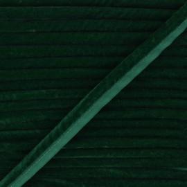 Passepoil velours 16mm Clovis - vert x 1m