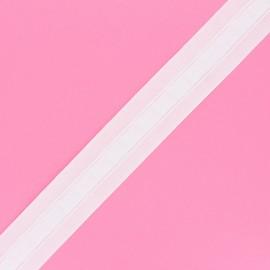 Ruflette galon fronceur pour rideaux - blanc x 1m