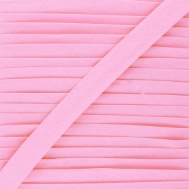 20 mm Poly Cotton Bias binding - ballerina pink x 1m