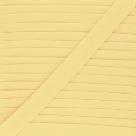 20 mm Poly Cotton Bias binding  - vanilla x 1m