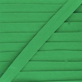 Biais tout textile 20 mm - vert prairie x 1m