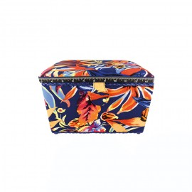 Large Size Sewing Box - Floral art