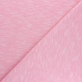 Tissu jersey flammé Olando  - rose x 10cm