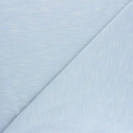 Tissu jersey flammé Olando  - bleu ciel x 10cm