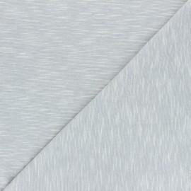 Tissu jersey flammé Olando  - gris clair x 10cm