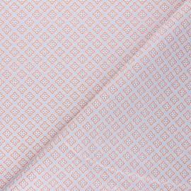 Cretonne Cotton fabric - white Granada x 10cm
