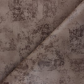Leather Imitation fabric - brown Tortosa x 10cm