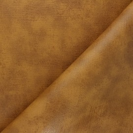 Leather Imitation fabric - honey Tortosa x 10cm
