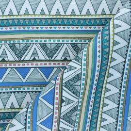 Simili cuir Vallarta - bleu x 10cm