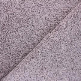 Tissu éponge Bio Relax - glycine x 10cm