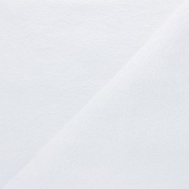 Organic Towel fabric - white Relax x 10cm