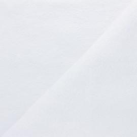 Tissu éponge Bio Relax - blanc x 10cm