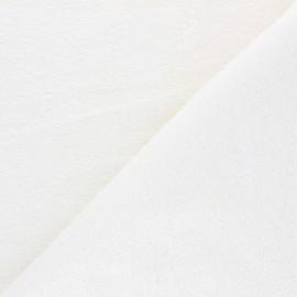 Tissu éponge Bio Relax - écru x 10cm