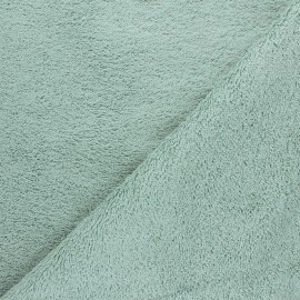 Organic Towel fabric - sage green Relax x 10cm