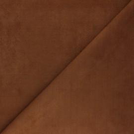 Tissu Suédine élasthanne Joliesse - camel x 10cm
