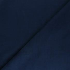 Suede elastane fabric - navy blue Joliesse x 10cm