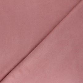 Tissu Suédine élasthanne Joliesse - bois de rose x 10cm