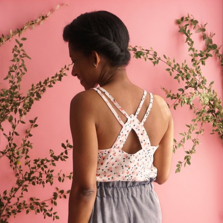 Top/Dress Sewing Pattern - Les lubies de Cadia Pavonia
