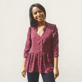 Blouse Sewing Pattern - Les lubies de Cadia Clara
