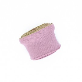 Poppy flounced Ribbing Cuffs (135x7,5cm) - pink