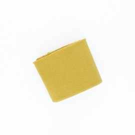 Poppy Plain Edging Fabric (135x7cm) - ochre