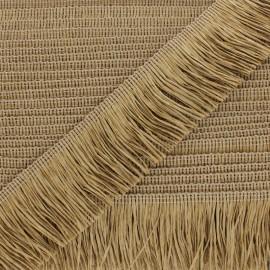 Rafia Fringe Trimming Ribbon - natural x 1m