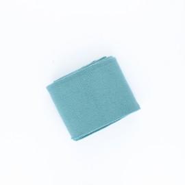 Poppy Plain Edging Fabric (135x7cm) -Sarcelle