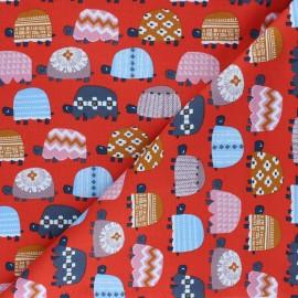 Cotton Dashwood Studio fabric - Turtle Family Hibernate x 10cm