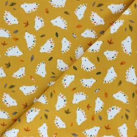 Tissu coton Dashwood Studio Hibernate - Hedgehog x 10cm