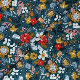 Cotton Dashwood Studio fabric - Forest Vegetation x 10cm