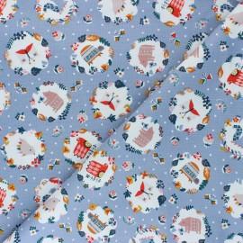 Tissu coton Dashwood Studio Hibernate - Winter Portraits x 10cm