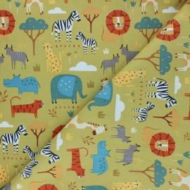 Cotton Dashwood Studio fabric - Savannah Habitat x 10cm