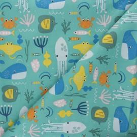 Tissu coton Dashwood Studio Habitat - Ocean x 10cm