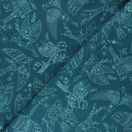 Tissu coton Dashwood Studio Aviary - Bird Sketch x 10cm