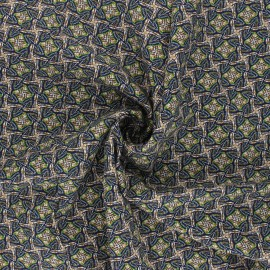Tissu viscose Tanzania - camel x 10cm