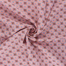 Viscose Fabric - coral Thalie x 10cm