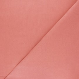 Plain cotton fabric - guava pink Nuance x 10cm