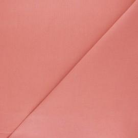 Tissu Coton uni Nuance - goyave x 10cm