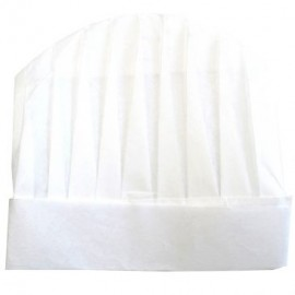 Children chef's toque to Personalize - White