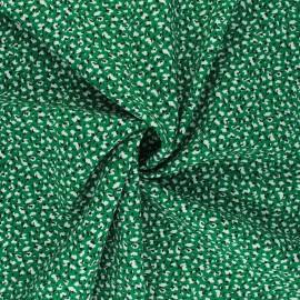 Viscose Fabric - green Marion x 10cm