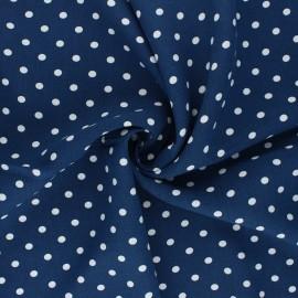 Tissu viscose Lola - bleu marine x 10cm