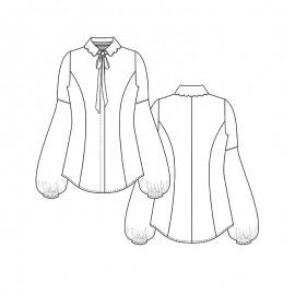Blouse Sewing Pattern - Lot of Things Bridget