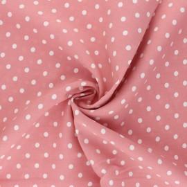 Tissu viscose Lola - rose blush x 10cm